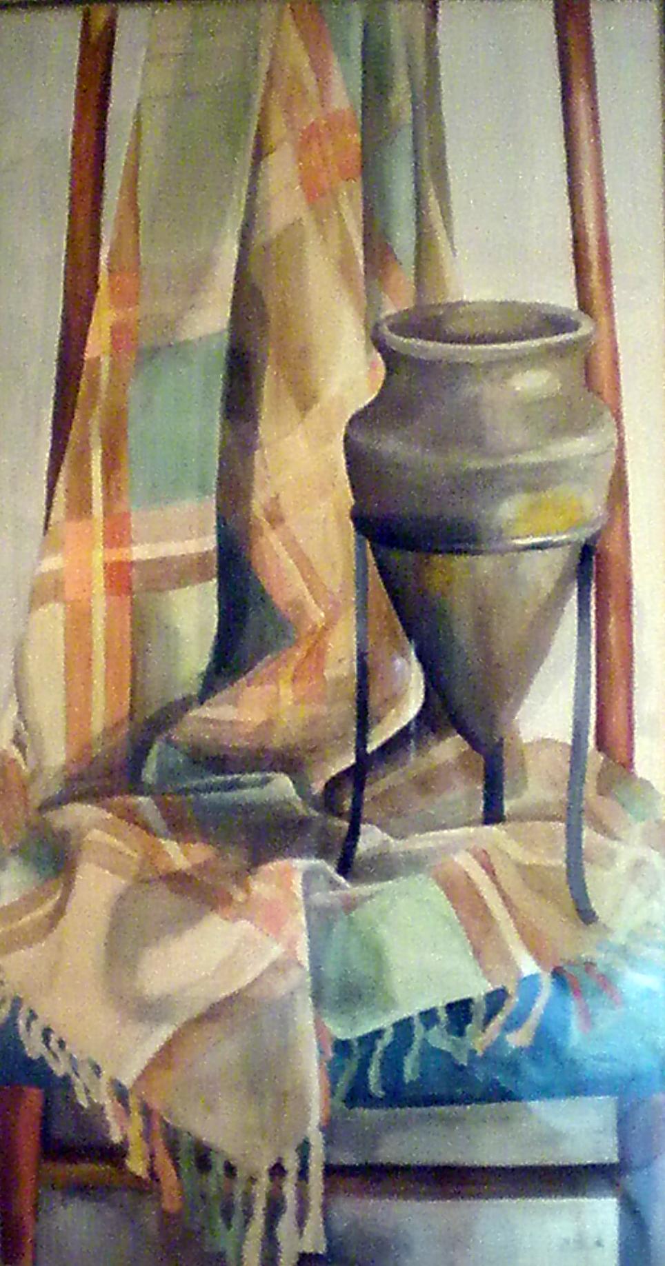 דומם - תמונת אקורל מאת אסתי הס