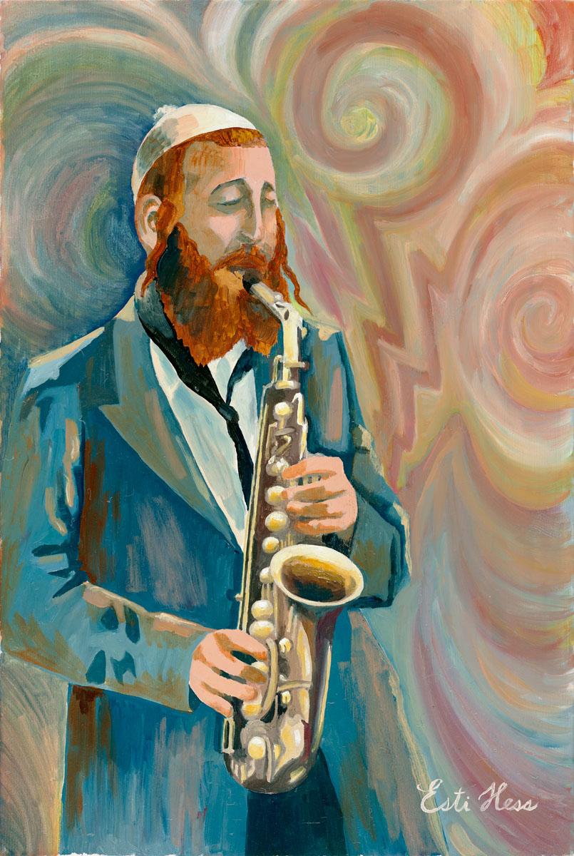 saxophone to internet